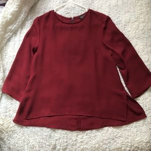 LIKE-NEW Top Shop Maroon Blouse